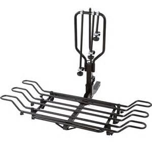 3 bike steel wheel mount hitch bike rack bc 3581