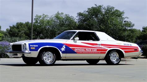 buick regal car 1975 buick regal pace car replica 184263