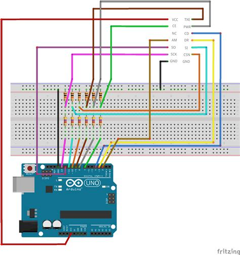 arduino relay module wiring diagram arduino relay board