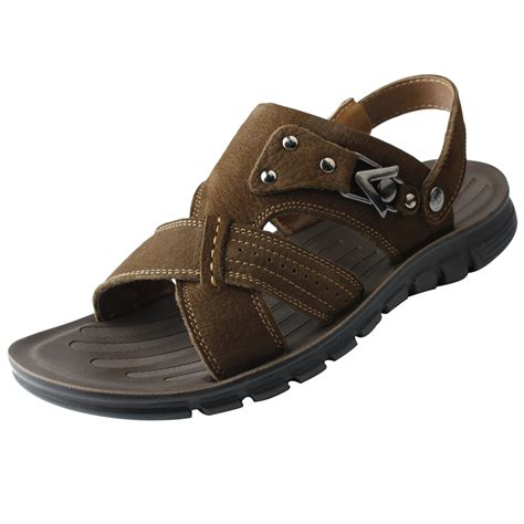 best leather sandals leather sandals for three looks bakuland
