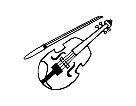 imagenes a lapiz de violines dibujo de stradivarius para colorear dibujos net