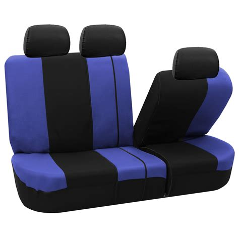 van bench seat covers 3 row seat covers suv van 5 colors airbag compatible split