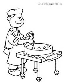 job color page coloring pages for kids family people