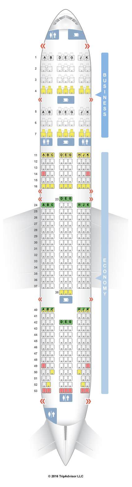 air 777 300 seating seatguru seat map turkish airlines boeing 777 300er 77w
