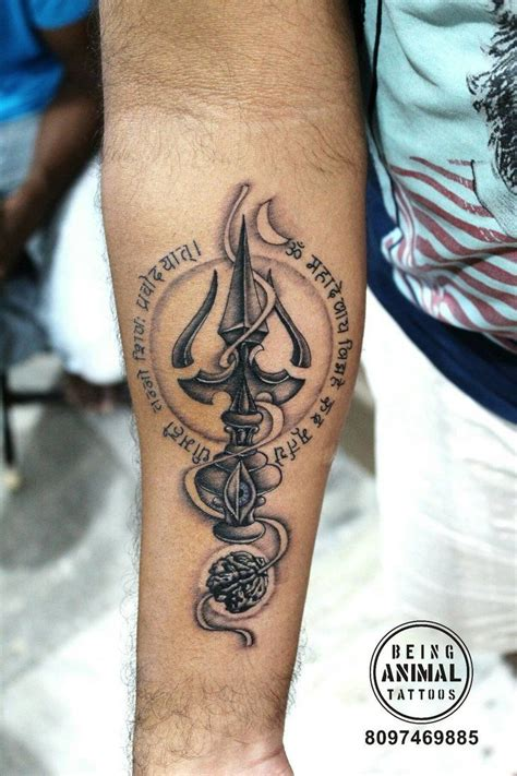 tattoo designs trishul pin by tattooartist sachin on trishul mantra rudraksha