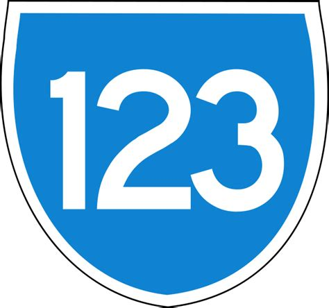 Free Search 123 File Australian State Route 123 Svg