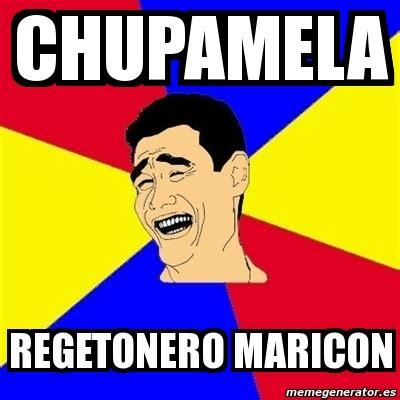 Maricon Meme - meme yao ming chupamela regetonero maricon 22320