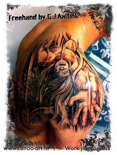 tattoo store zwolle freehand made by g j aaltink black and grey