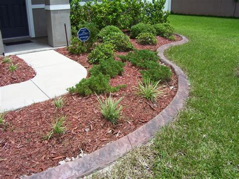 Decorative Stepping Stones Home Depot Best Concrete Edging In Jacksonville