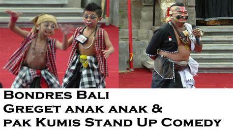 film anak stand up comedy lawak bali greget anak anak dan pak kumis stand up comedy