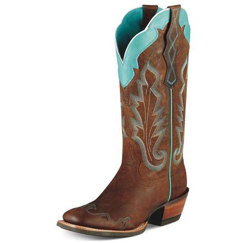 womans ariat boots ariat womens caballera boots