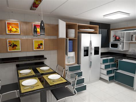 projeto 3d cleyton projetos 3d projeto de m 243 veis para cozinha