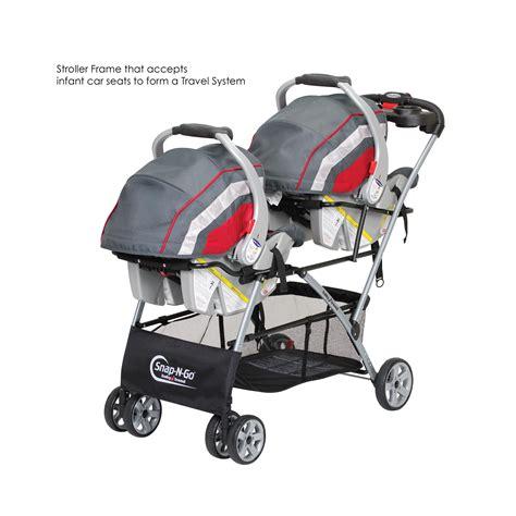 Gb Stroller 008 Q Fold Blue baby trend universal snap n go