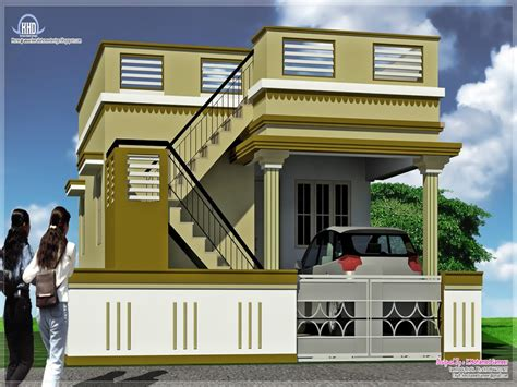 double story house designs indian style indian double story house plans