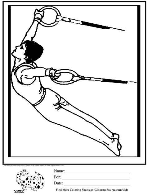 olympic gymnastics coloring pages 17 best images about craft ideas for birthday party on