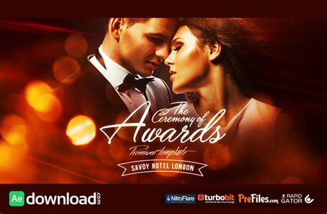 templates for after effects download awards ceremony videohive project project free
