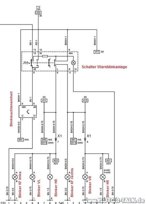 Motorrad Blinker Verkabelung by Blinker Omega B Verkabelung Seitenblinker Omega B Opel