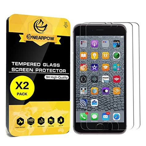 2 pack iphone 6s plus 6 plus 5 5 quot screen protector nearpow 3d touch compatible tempered