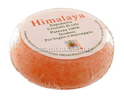 lada di sale dell himalaya saponetta ai cristalli di sale himalayano bio luce
