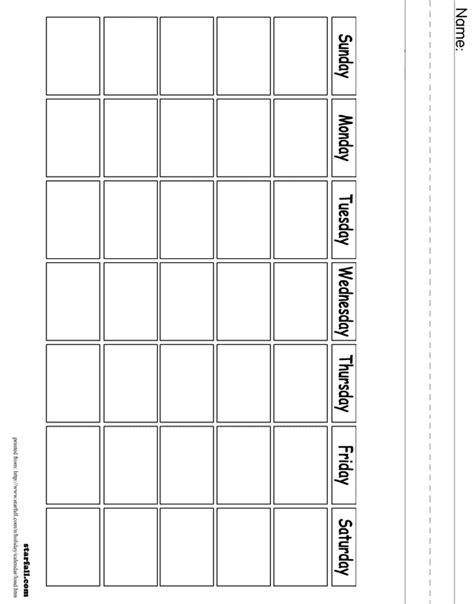 Calendar Printouts Printouts Calendar