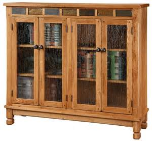 Rustic Bookcase With Doors Hoot Judkins Furniture San Francisco San Jose Bay Area Designs Bookcases With Doors