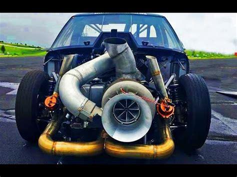 extreme huge big turbo engines crazy powerful cars youtube
