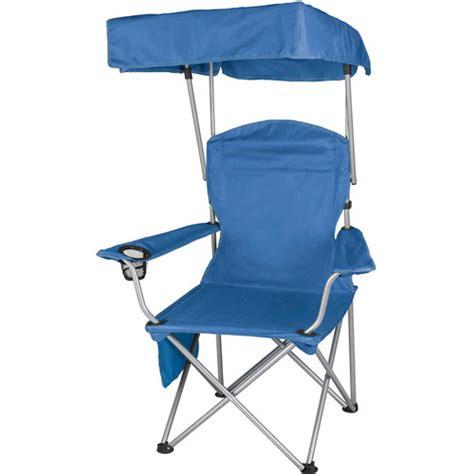 Folding Chair With Canopy Walmart by Ozark Trail Folding Canopy Shade C Chair Walmart
