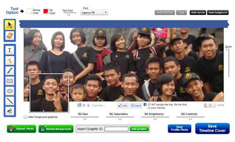 cara membuat cover facebook cara mudah membuat dan edit foto untuk cover facebook le