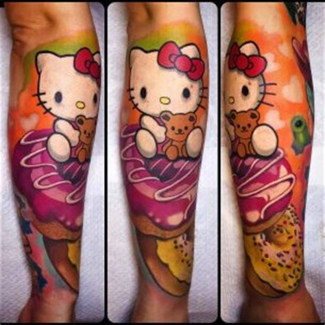 new school hello kitty tattoo new school tattoos best tattoo ideas gallery part 2