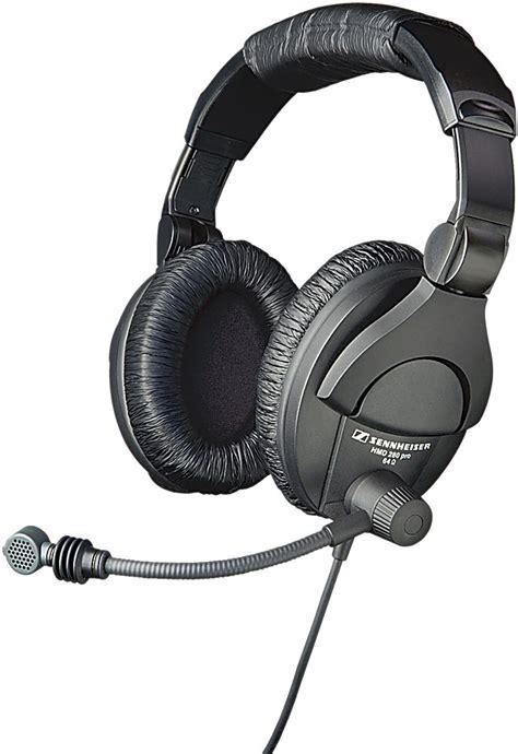Headset Plus Microphone sennheiser hmd280 pro headset with boom microphone
