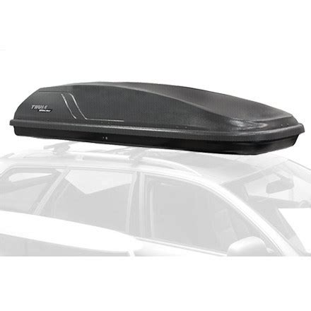 thule glacier 1400 roof box made exclusively for rei