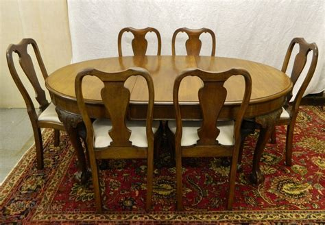 Dining Table And Six Chairs Mahogany Dining Table Six Chairs Antiques Atlas