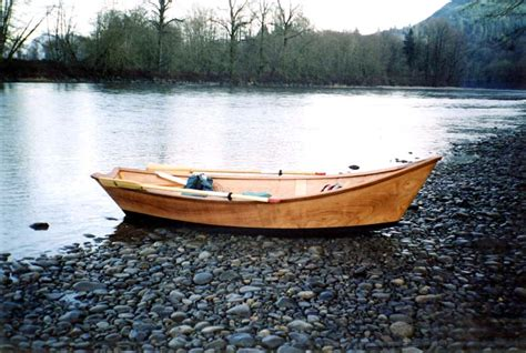 drift boat fishing by yourself wooden drift boat plans from butler projects the fly