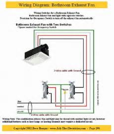 bathroom exhaust fan diagram wiring bathroom fan light bo wiring free engine image