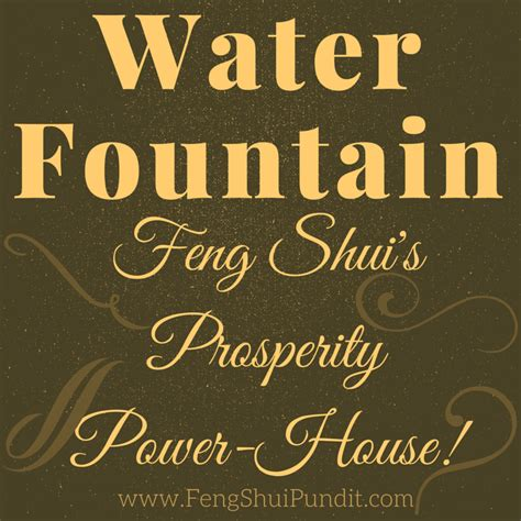 Southwestern Houses 20 Key Water Fountain Feng Shui Rules You Should Know