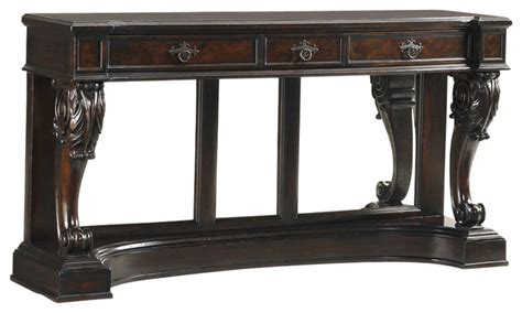 tommy bahama sofa table tommy bahama greenwich console table in warm aged brass