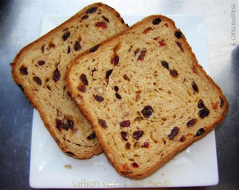 fruit bread couscous consciousness saffron fruit and nut bread