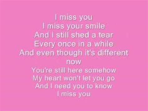 i you lyrics lyrics miley cyrus i miss you