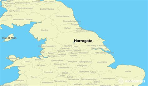 where is harrogate harrogate map