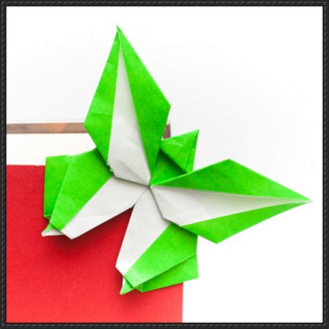 How To Fold Origami Butterfly - papercraftsquare new paper craft how to fold an