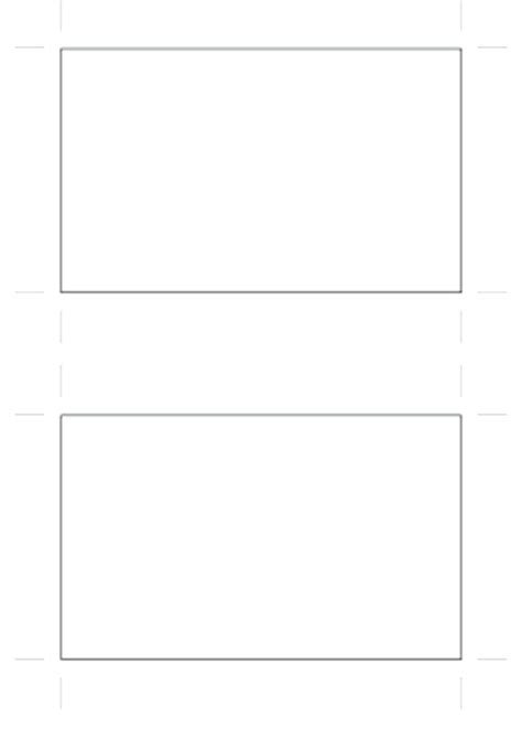 Blank Standard Card Template by Blank Business Card Template Microsoft Word Template