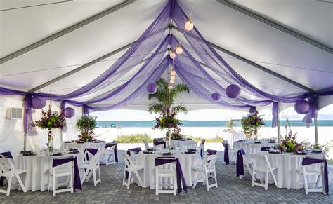 Wedding Ceremony Reception by Top Florida Beachfront Wedding Venues Sirata Resort