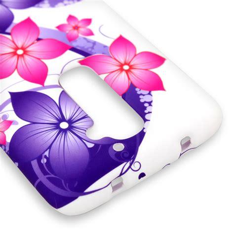 flower rubber sts rubber cover for lg g2 d802 custom design phone