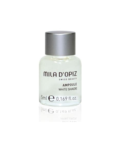 Mila D Opiz Phyto Forbidden Serum white shade concentrate oule mila d opiz america swiss since 1938
