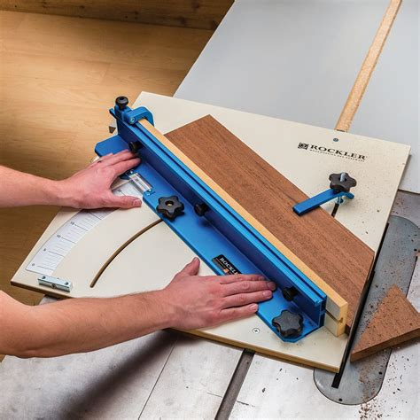 table  crosscut sled rockler woodworking  hardware