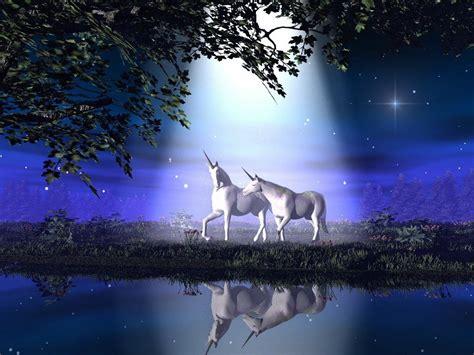 imagenes de unicornios en 3d unicornios enamorados fondos de pantalla gratis