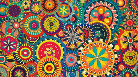 wallpaper ethnic design floral desktop wallpapers wallpaper cave