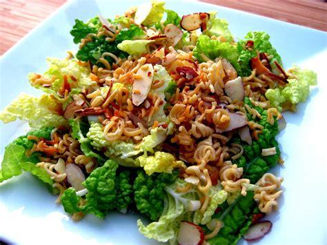 Napa Salad | karis kitchen a vegetarian food blog napa cabbage salad