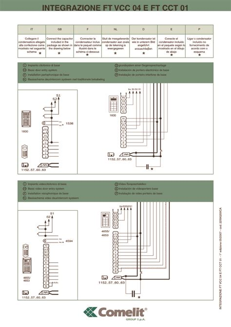 comelit handset wiring diagram antique phone wiring