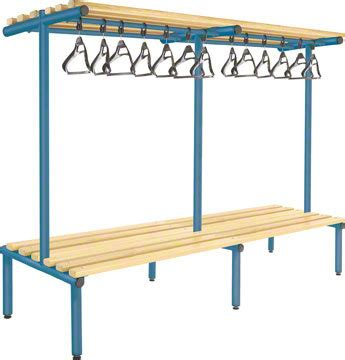 overhead bench 2000mm double sided overhead bench light ash